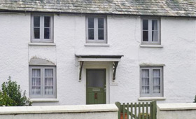 Traditionally styled cottage windows